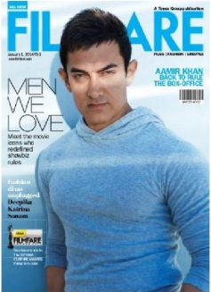 Aamir Khan on the cover of Filmfare December 2013 issue