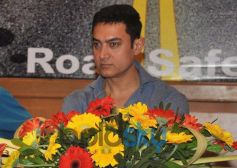 Aamir Khan at Road Safety Event