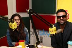 Abhay Deol and Preeti Desai at Radio Mirchi for film promotion