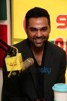 Abhay Deol at Radio Mirchi for film promotion
