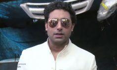 Abhishek Bachchan during Dabboo Ratnani 2014 Calendar photoshoot