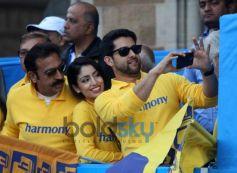 Aftab Shivdasani during Standard Chartered Mumbai Marathon