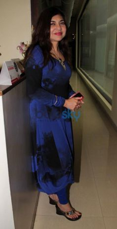 Alka Yagnik at Celebration of 92.7 BIG FM's New Radio Show