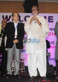 Amitabh Bachchan during AIFEC event