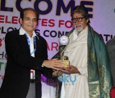 Amitabh Bachchan during AIFEC event