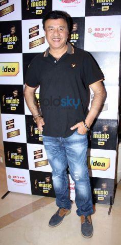 Anu Malik during Mirchi Music Awards Press Meet