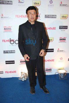 Anu Malik stuns at Filmfare Awards Nominations Party 2014