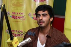 Arjun Kapoorl at Radio Mirchi