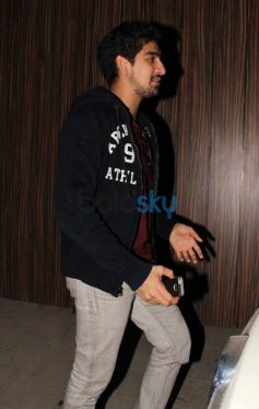 Ayan Mukherjee snapped at Aamir Khan's Residence