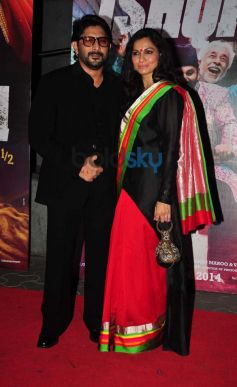 Bollywood Celebs at Dedh Ishqiya Premiere