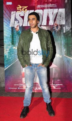 Bollywood Celebs during Dedh Ishqiya Premiere