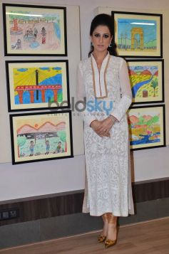 Bollywood Celebs at Rouble Nagi Art Foundation