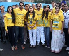 Bollywood Celebs at Standard Chartered Mumbai Marathon