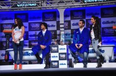 Bollywood stars at Gillette Launch Fusion Power Phantom
