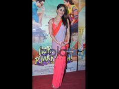 Kareena Kapoor Khan in Orange, Pink And Grey Saree