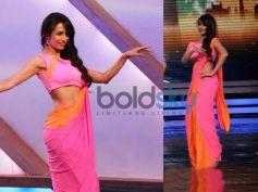 Malaika Arora khan in Neon Saree