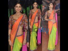 Shilpa Shetty Kundra in Desi style Saree
