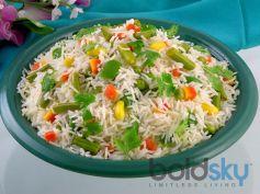 Butter and Capsicum Rice Recipe