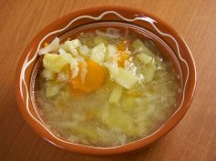 Cabbage Pepper Soup For Weight Loss