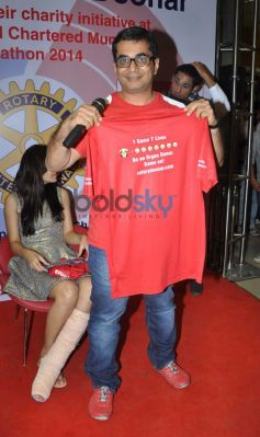 Celebs at charity initiative at SCMM 2014