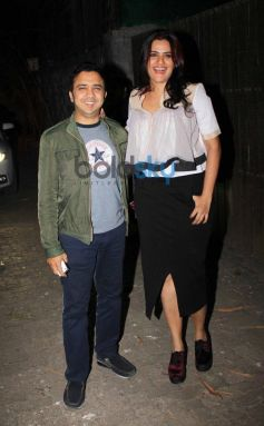Celebs at Special screening of One by Two