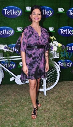 Celebs stuns during Tetley Green Tea Launch event