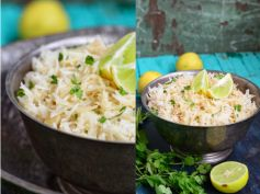 Cilantro and Lemon Rice