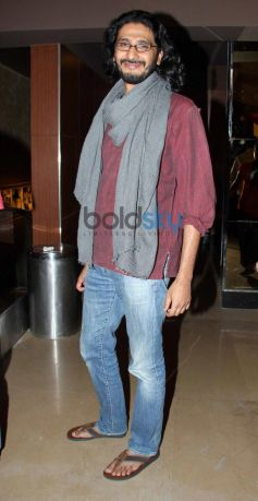 Director Abhishek Chaubey during Dedh Ishqiya Promtion