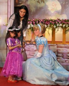 Disney Princesses Meet Indian Celebrities
