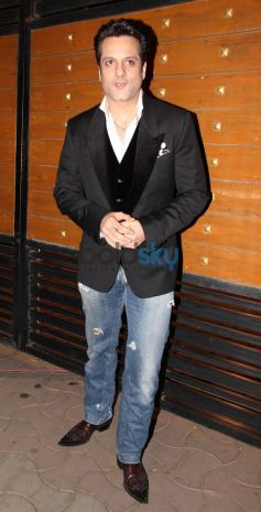Fardeen Khan snapped during Filmfare 2014