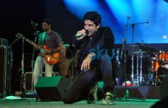 Farhan Akhtar live performance at ALEGRIA