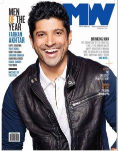 Farhan Akhtar on the cover of MW magazine JAN 2014