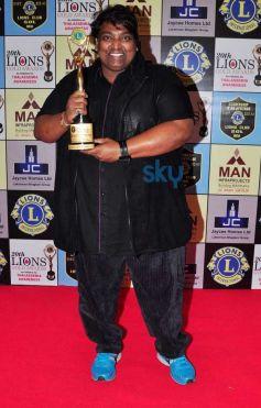 Ganesh Acharya during Lion Gold Awards