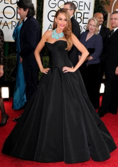 Sofia Vergara during Golden Globe Awards 2014