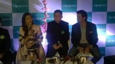 Gorgeous Sonam Kapoor at OPPO mobile launch