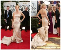 Hollywood actresses on red carpet at Golden Globe Awards 2014