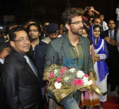 Hrithik Roshan enterance during Joyalukkas Jewellery Showroom Inauguration