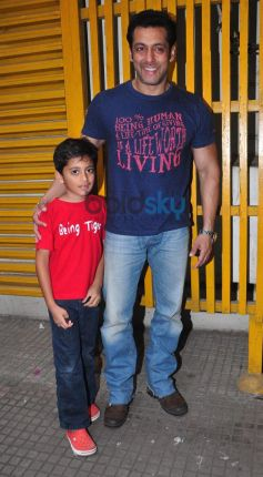Jai Ho screening for NGO kids at ketnav