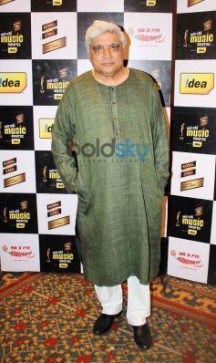 Javed Akhtar during Mirchi Music Awards Press Meet