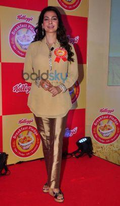 Juhi Chawla At Kellogg's Event