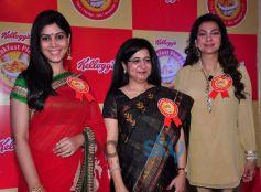 Juhi Chawla & Sakshi Tanwar At Kellogg's Event