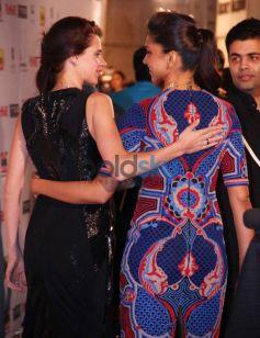 Kalki and Deepika stuns at Filmfare Awards Nominations Party 2014