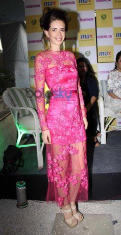 Kalki Koechlin during Announcement of Max Fashion icon 2014