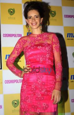 Kalki Koechlin snapped during Announcement of Max Fashion icon 2014