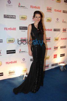 Kalki Koechlin stuns at Filmfare Awards Nominations Party 2014