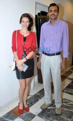 Kalki Koechlin with Arjun Shekhar during book launch