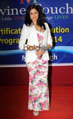Kavita Kaushik at Children Education Certificate Programe