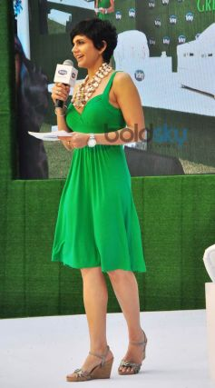 Mandira Bedi stuns during Tetley Green Tea Launch event