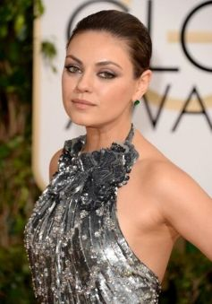 Mila Kunis during Golden Globe Awards 2014