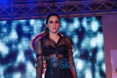 Model ramp at Signature Fashion Party at Lucknow